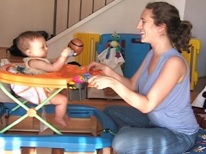 Infant parent interaction: Cognitive Development Lab, UCSD