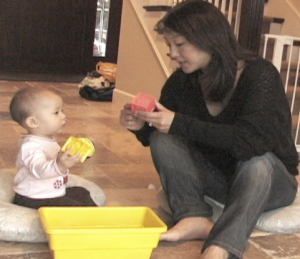 MESA free play 12 month maternal speech, Cognitive Development Lab, UCSD