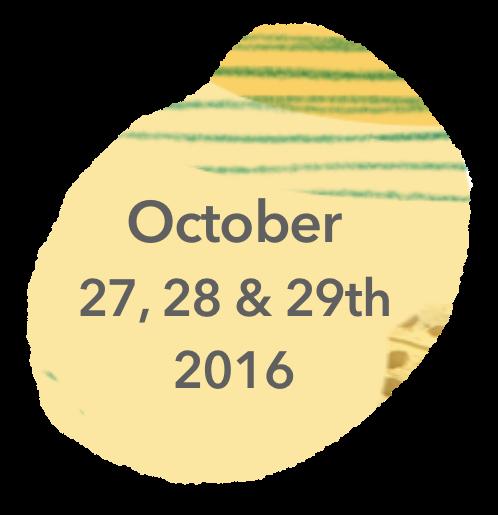 October 27, 28th & 29th