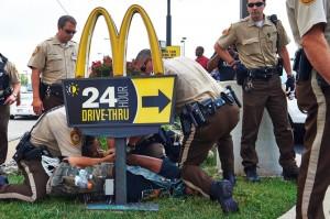 demonstrators-protest-michael-brown-fatal-shooting