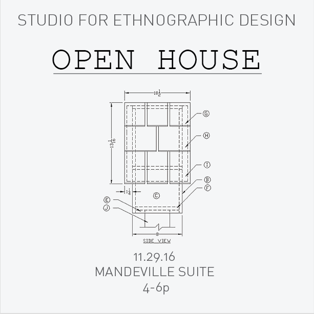 STUDIO FOR ETHNOGRAPHIC DESIGN | University of California, San DIego