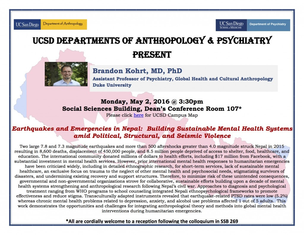 Brandon Kohrt-Anthro & Psychiatry Colloquium-5.2.16 Flyer %283%29
